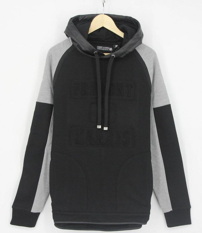 2017 New Design Hip Hop Men Fleece Embossing Print Hoodies Sweatshirts Top Clothing (H0258)