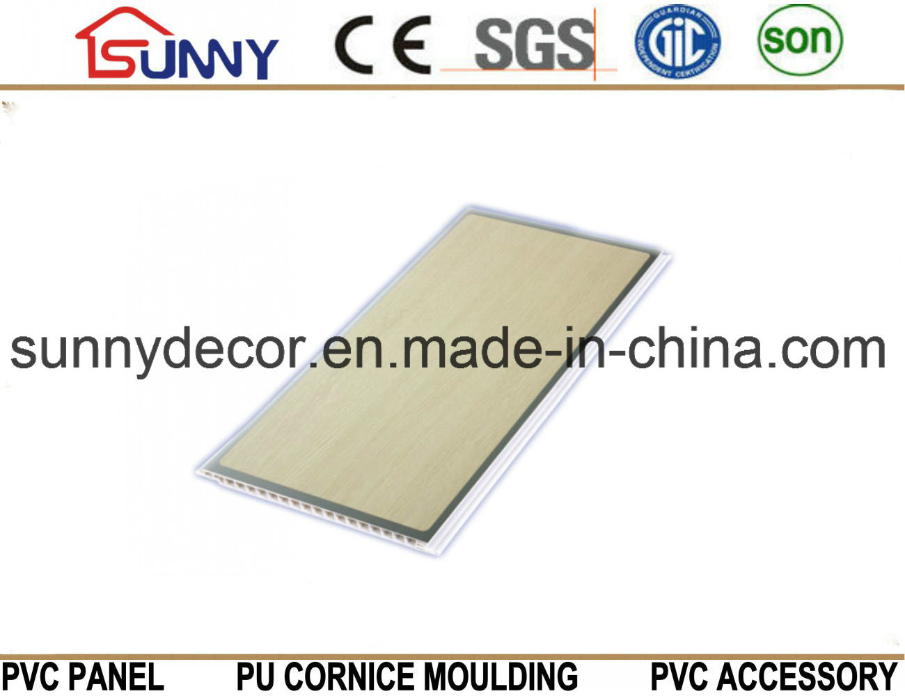 Hot Stamping PVC Panel PVC Ceiling PVC Wall Panel