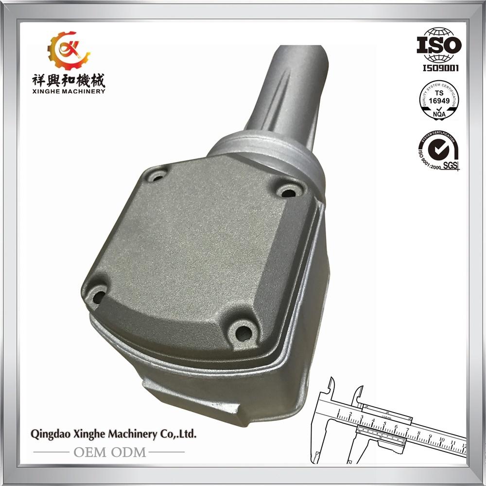OEM Aluminum Casting Automobile Engineering Parts with Sand Blasting