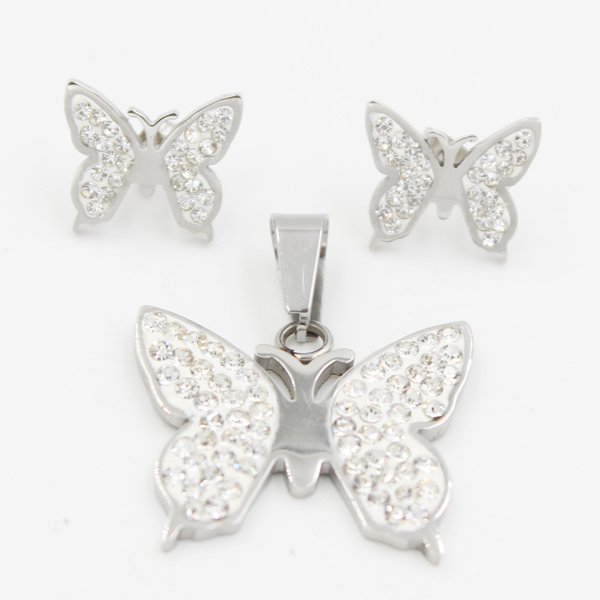 High Quality Stainless Steel Butterfly Earring Fashion Jewelry