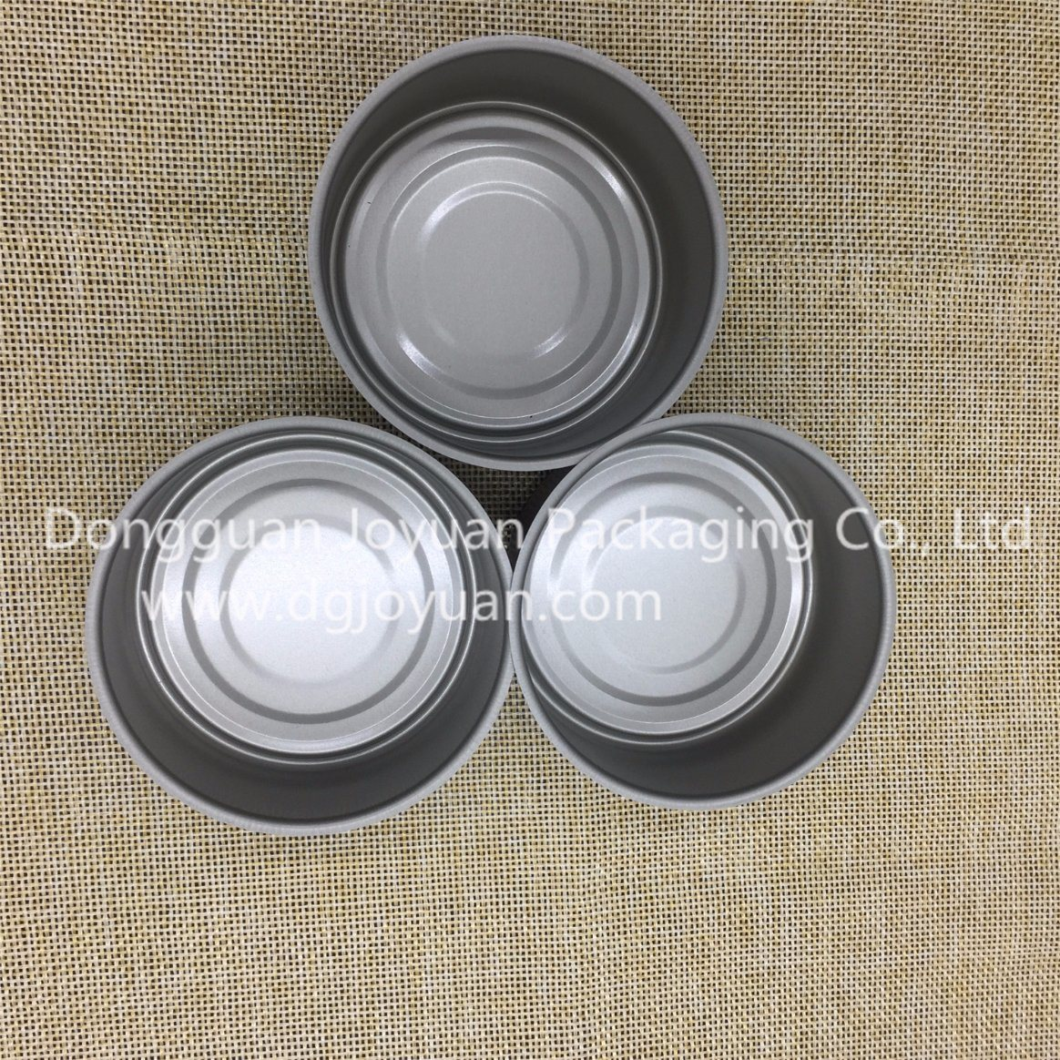 84*34mm Round 2 PCS Can with Easy Open Lid
