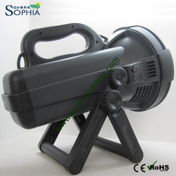 New Rechargeable 30W LED Spotlight Flashlight 22000mAh Lithium 1500m Range