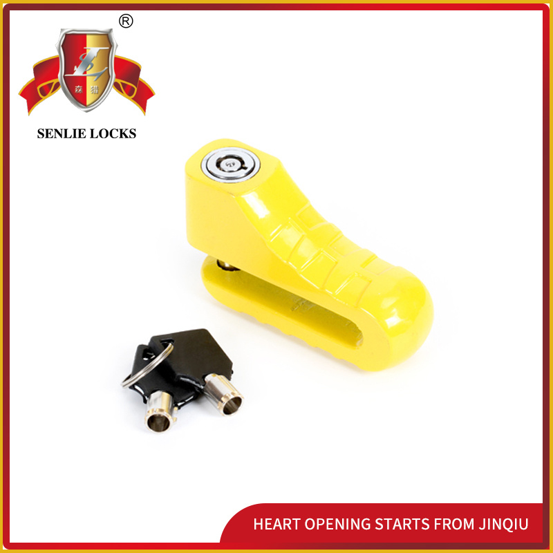 Jq8704-1 Two Colors Popular Security Bicycle Lock Moctorcycle Disk Lock