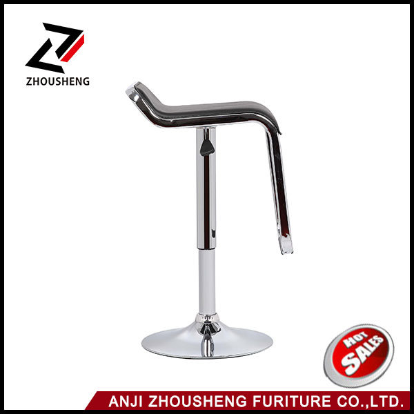 2016 Hot Sale Balck PVC Bar Stool Bar Chair From Anji Zhejiang