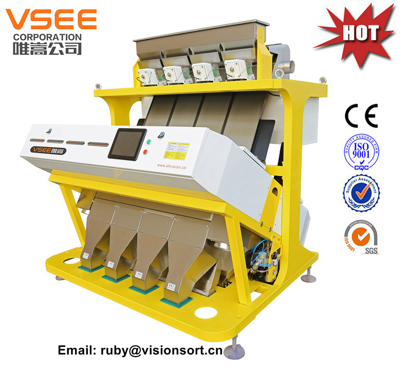Vsee Color Sorter for Sunflower Seeds with SGS, Ce, ISO Certificate