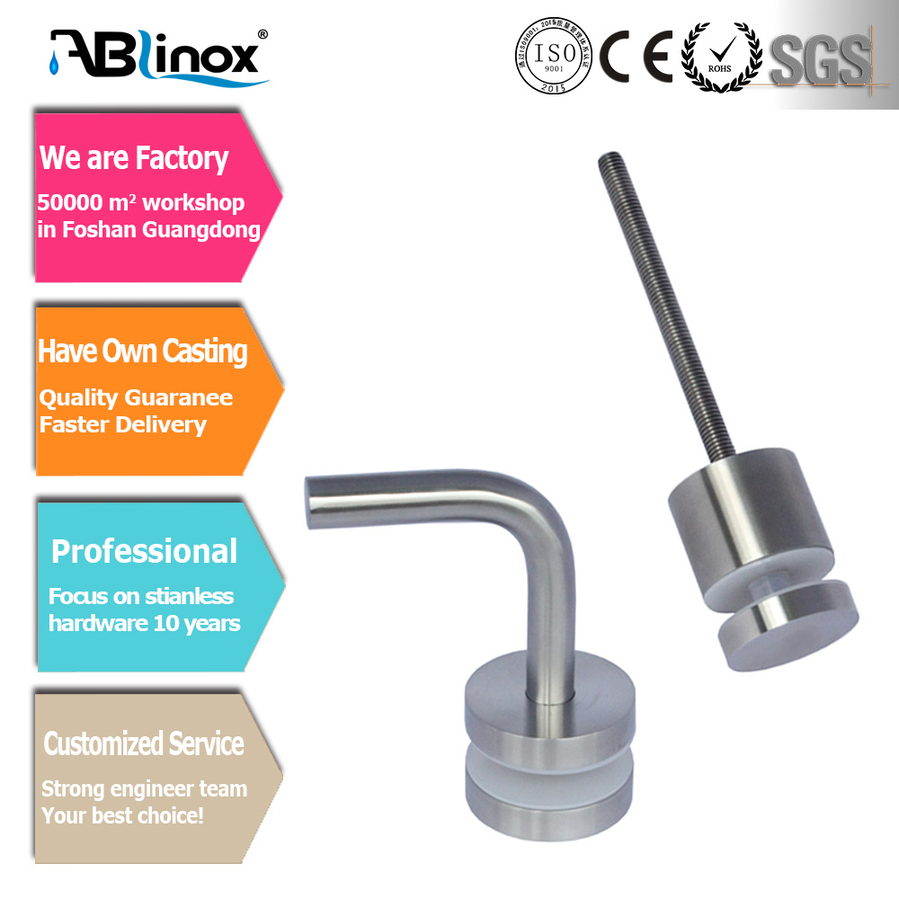 Stainless Steel Glass Clamp for Handrail (CC103)