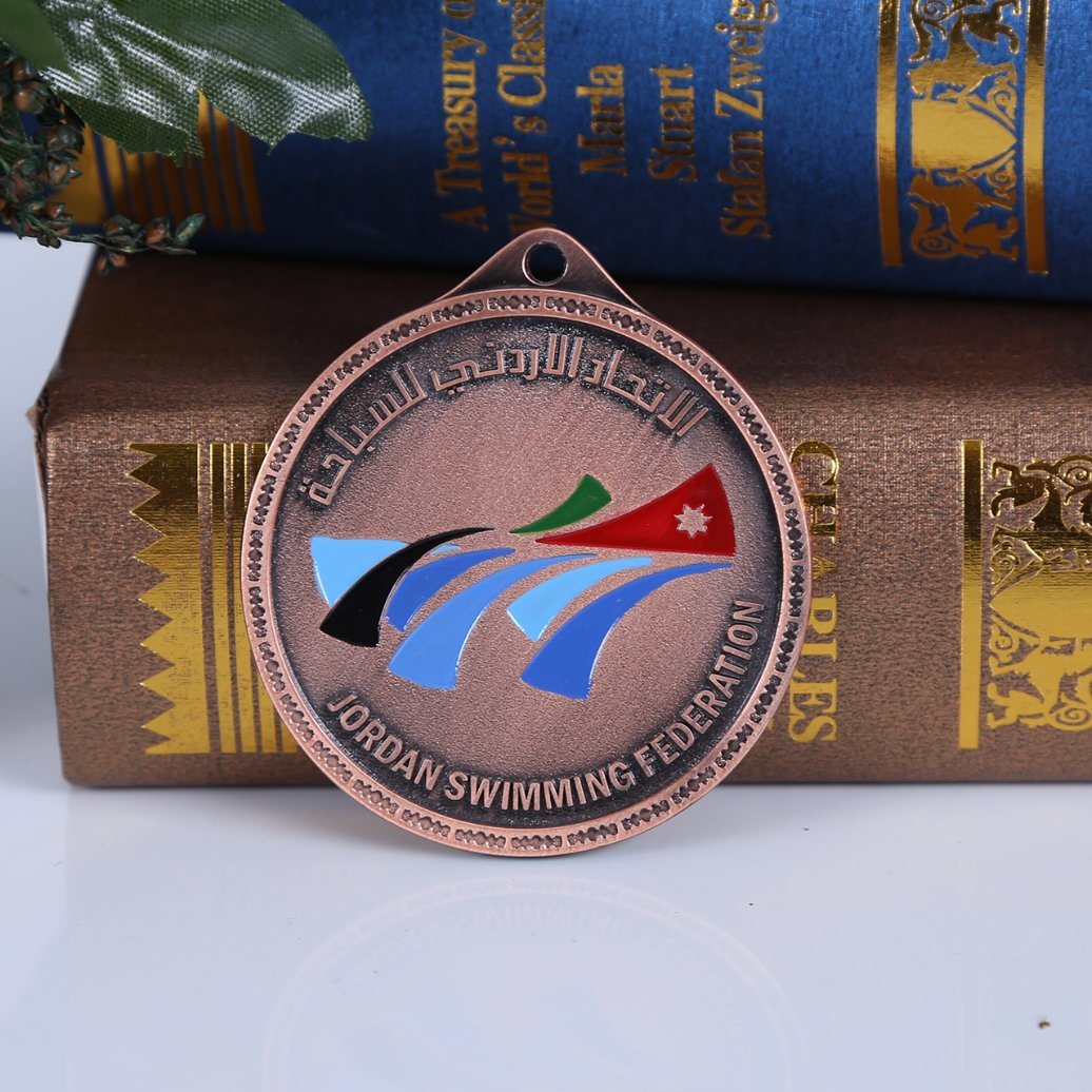Soft Enamel or Custom Prainted Competition Medallion