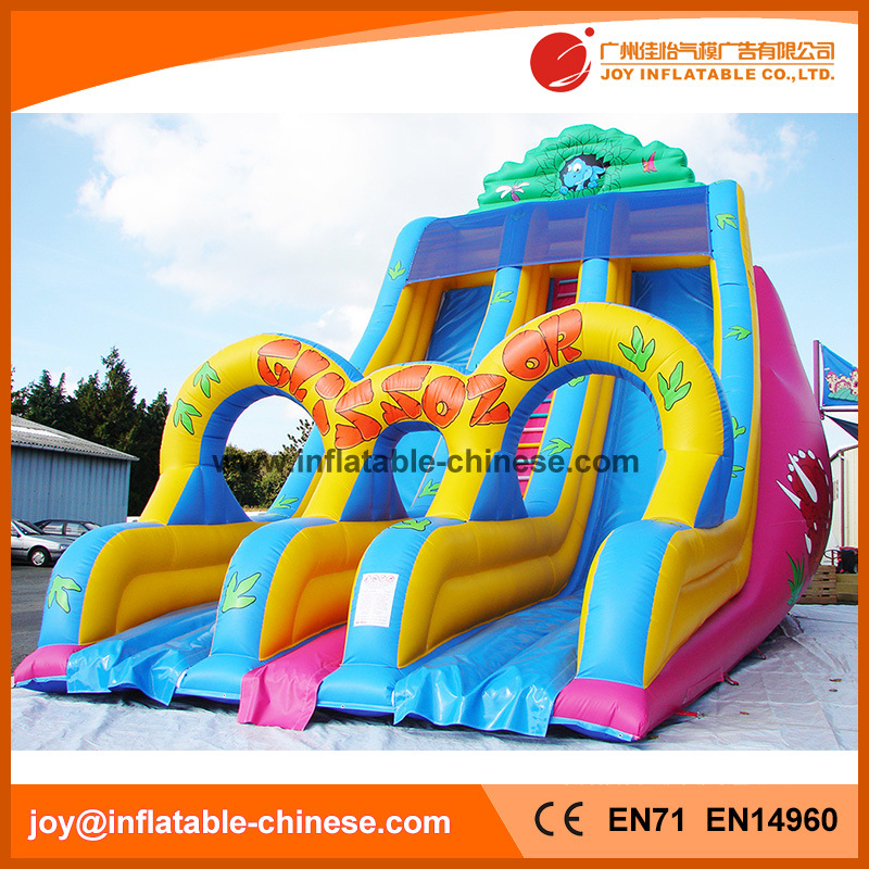 Funny Amusement Nature World Inflatable Slide (T4-253)