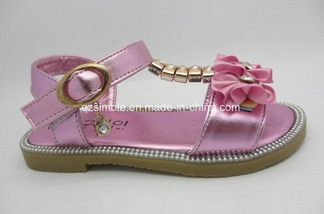 Children Flat Fashionable Sandal for Summer