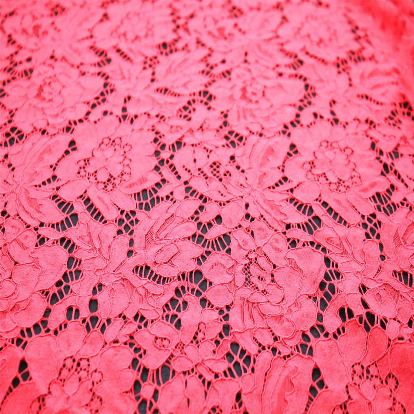 Fashionable Nylon Jacquard Lace Fabric for Garment