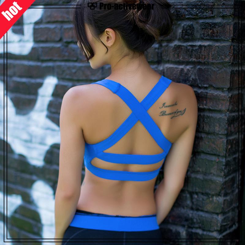 OEM Factory Fashion Women Top Ladies Sexy Yoga Sports Bra