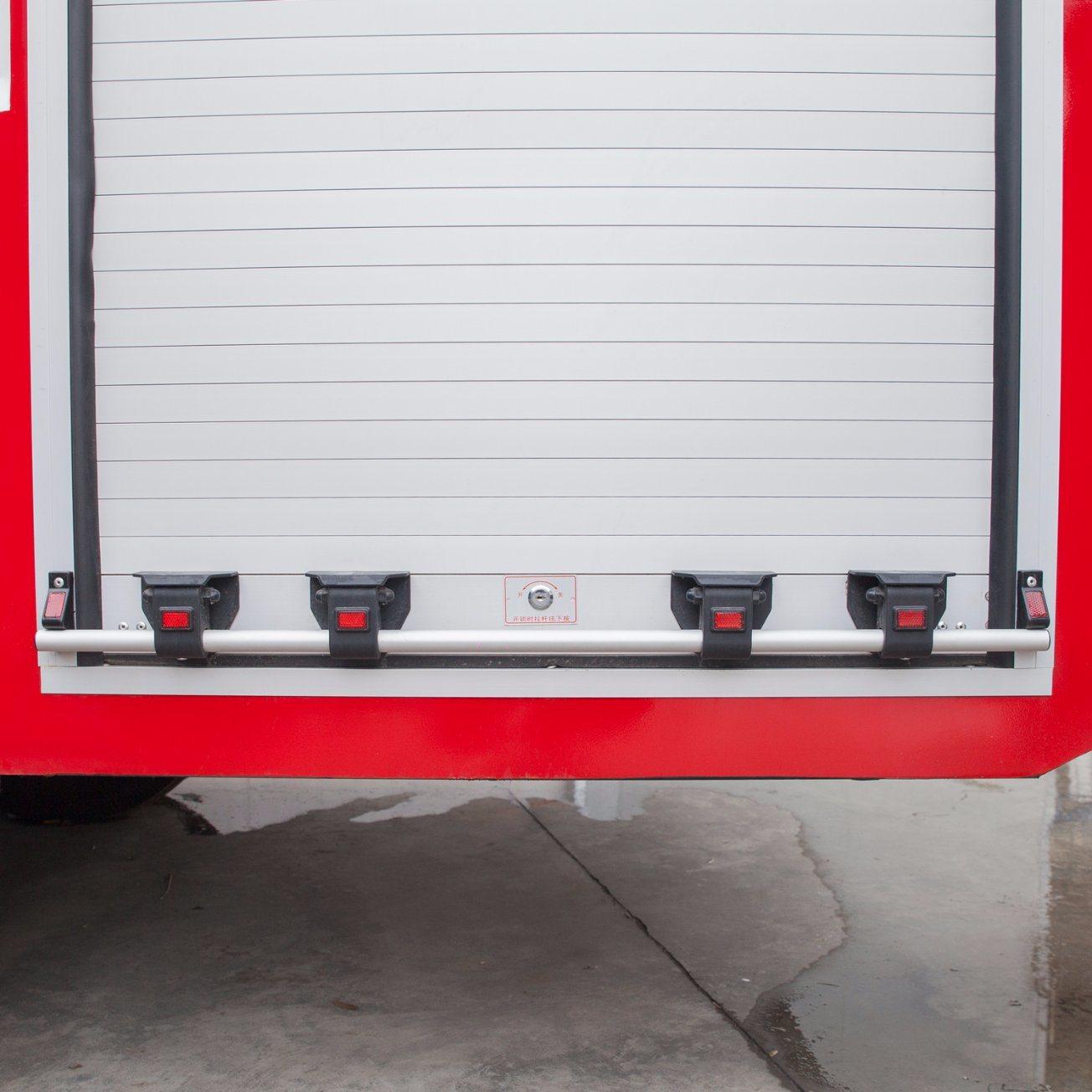 Aluminum Alloy Fire Shutter for Fire Truck
