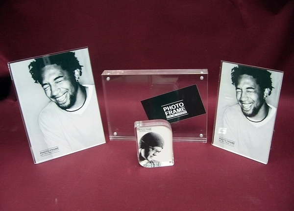 Customize Wholesale New Clear Magnet 4X6 Acrylic Picture Transparent Acrylic Frame