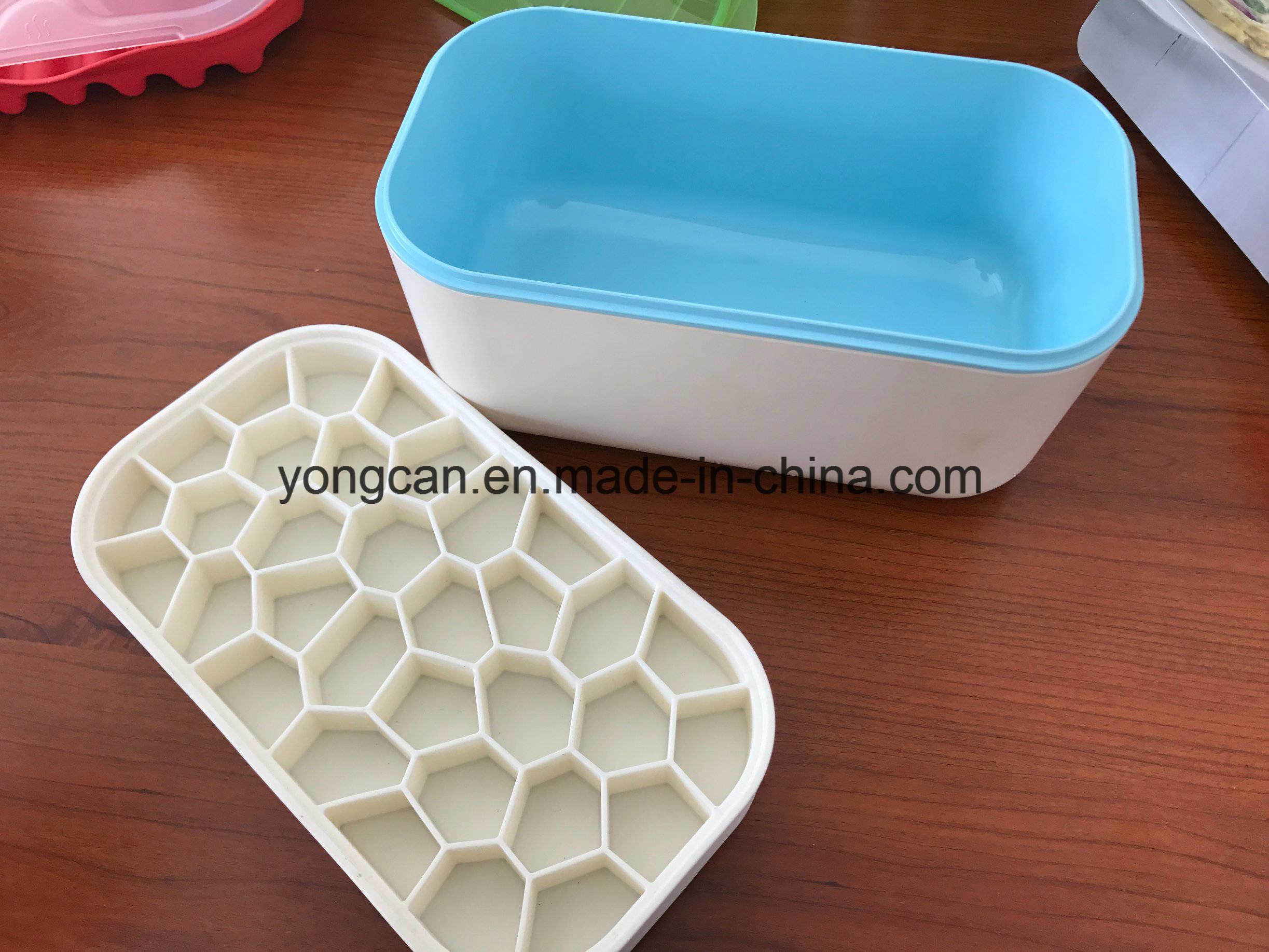 OEM Homemade Ice Cream Box/ Plastic Ice Box/ Silicone Rubber Mold Cooler Box