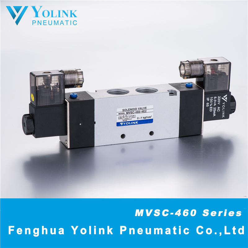 MVSC-460-4E2 Series Pilot Operated Solenoid Valve
