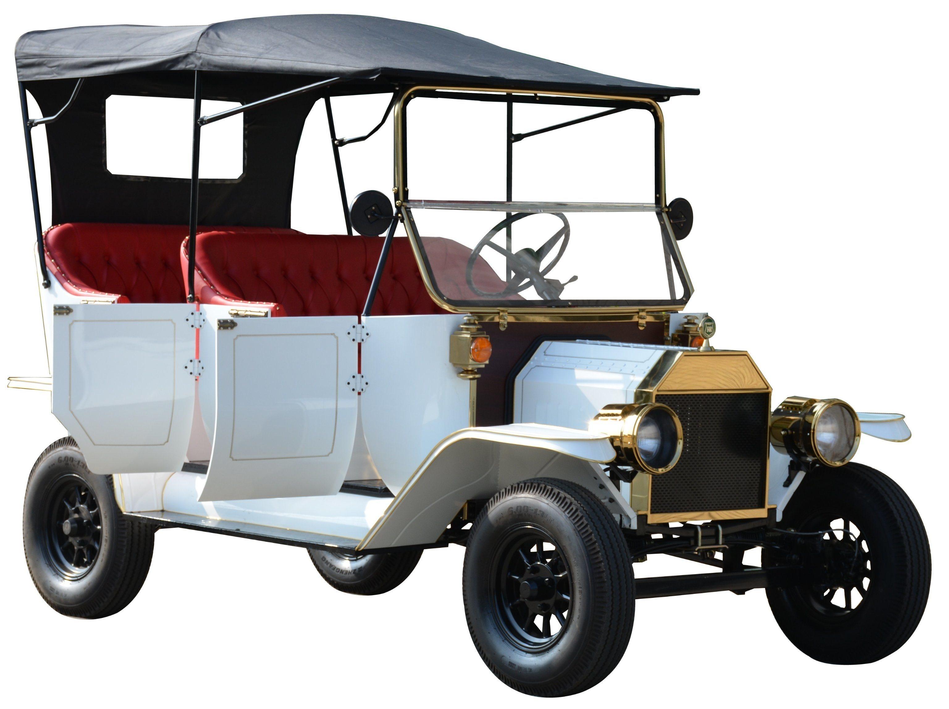 Origianl Manufacturer 4 Passenger Electric Vintage Buggy Car