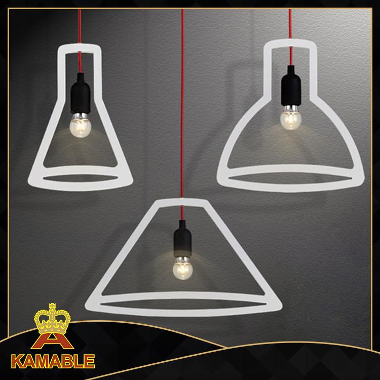 Simple Decorative Dinner Room Hanging Lights (KAP9110/3)