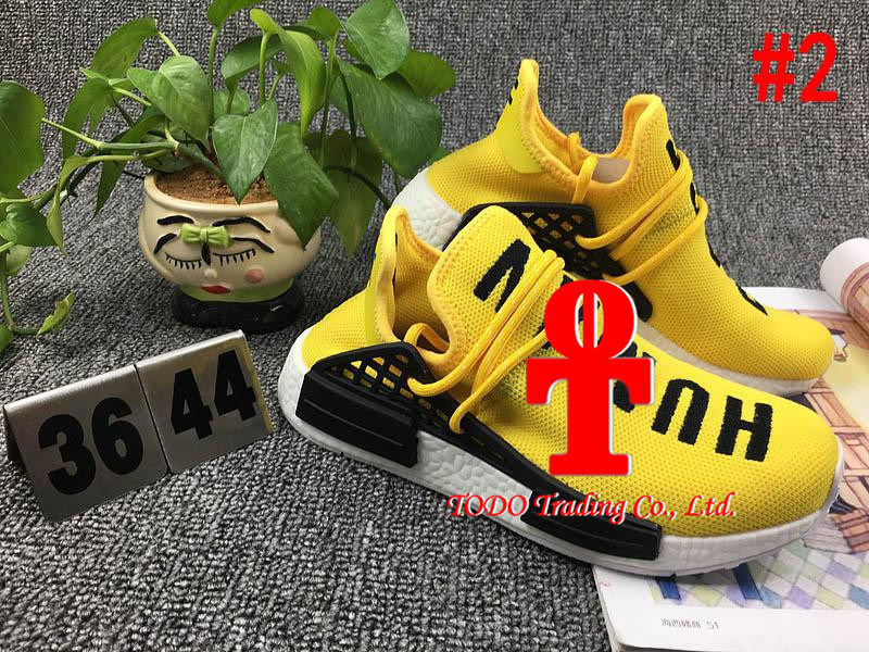 . [with Originals Box] 2017 Cheap Human Race Nmd Pharrell Williams Women Men Fashion Outdoor Training Sneaker Nmd Human Races Running Shoes