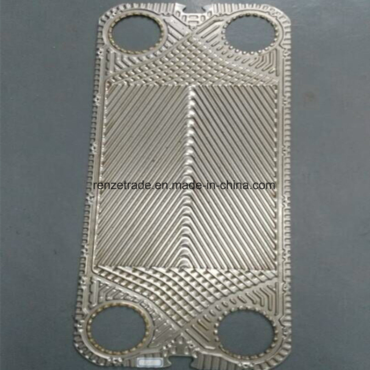 AISI304, AISI316L, Titanium 0.5mm, 0.6mm Plate for Gasketed Plate Heat Exchanger