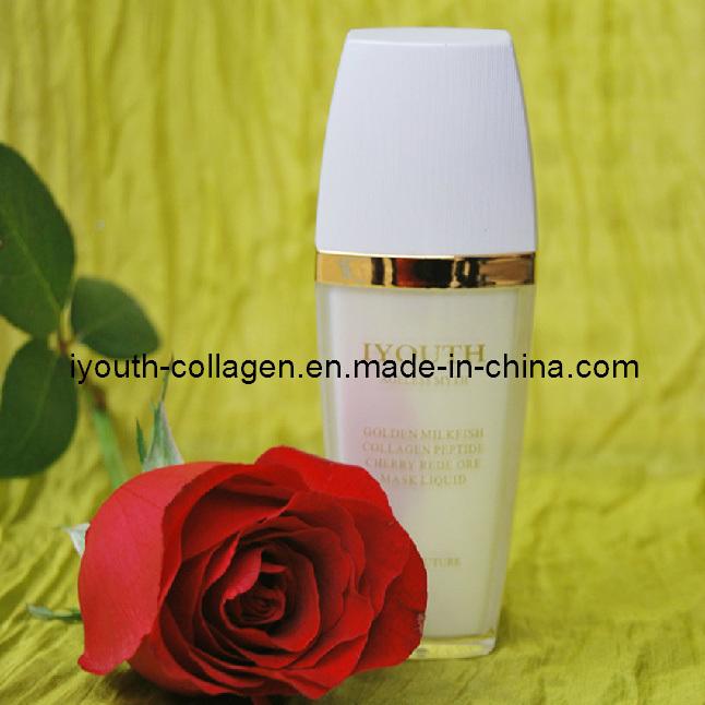 GMP, Top Cosmetics, 100% Natural Golden Milkfish Collagen Peptide Cherry Red E Ore Mask Liquid