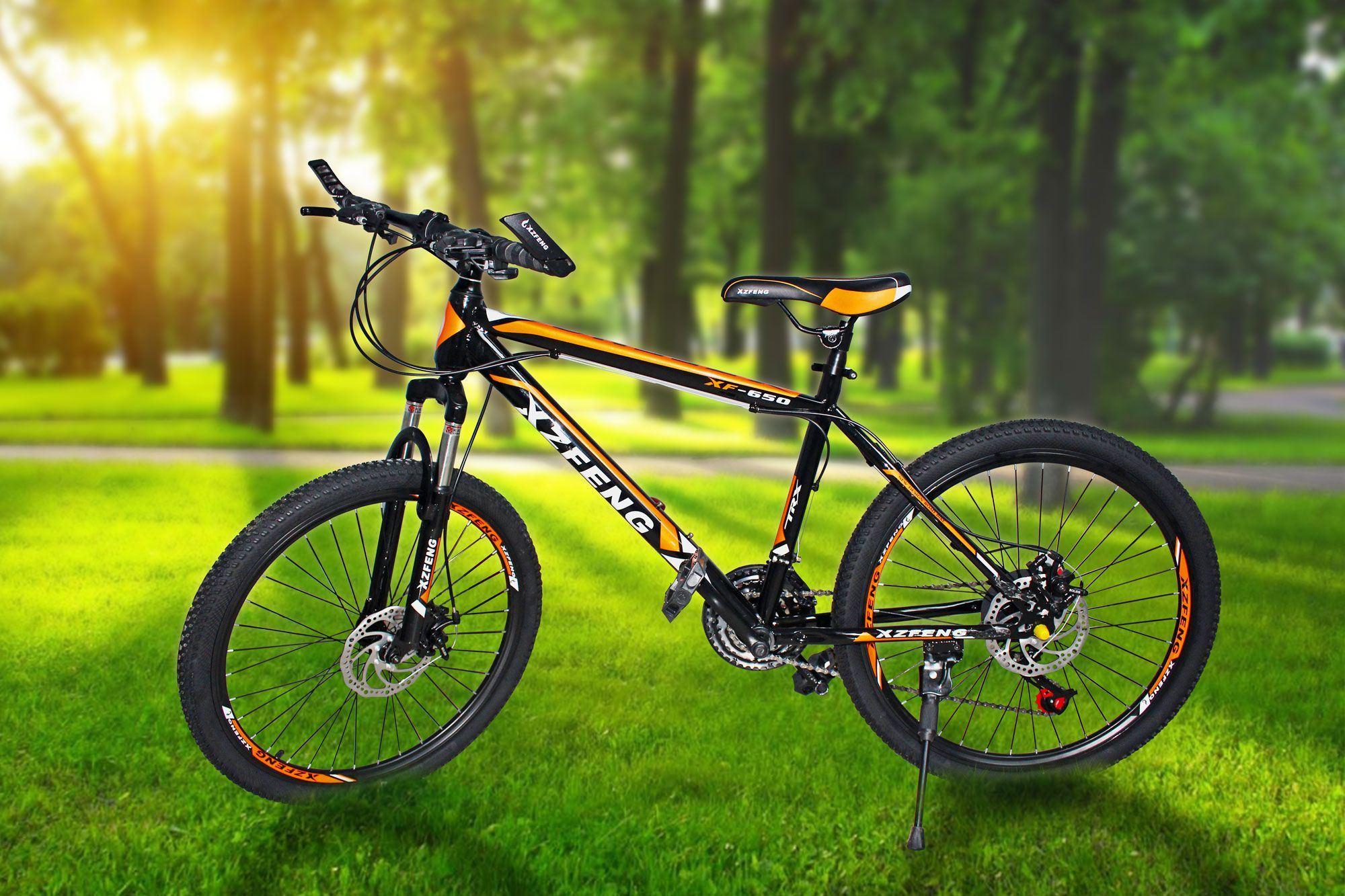 Carbon Steel 21speed Sport Mountain Bike (MT-033)