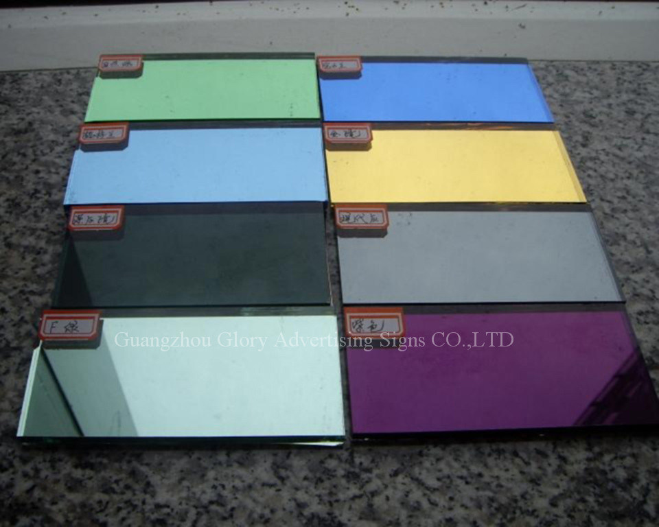 Plastic PMMA Silver and Gold Acrylic Mirror Sheet for Decoration and Bathroom