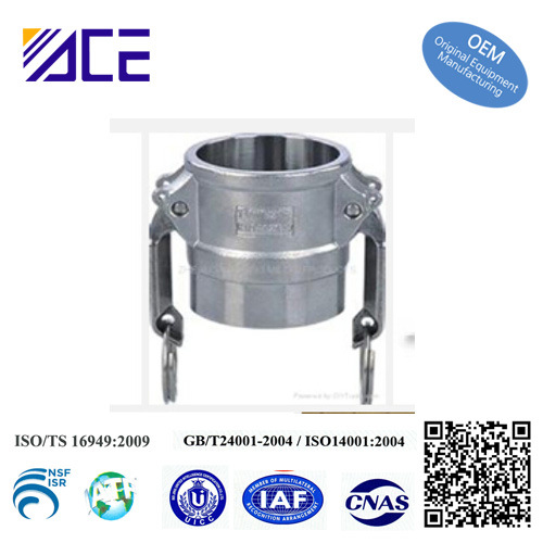 Stainless Steel Quick Coupling Coupler Female