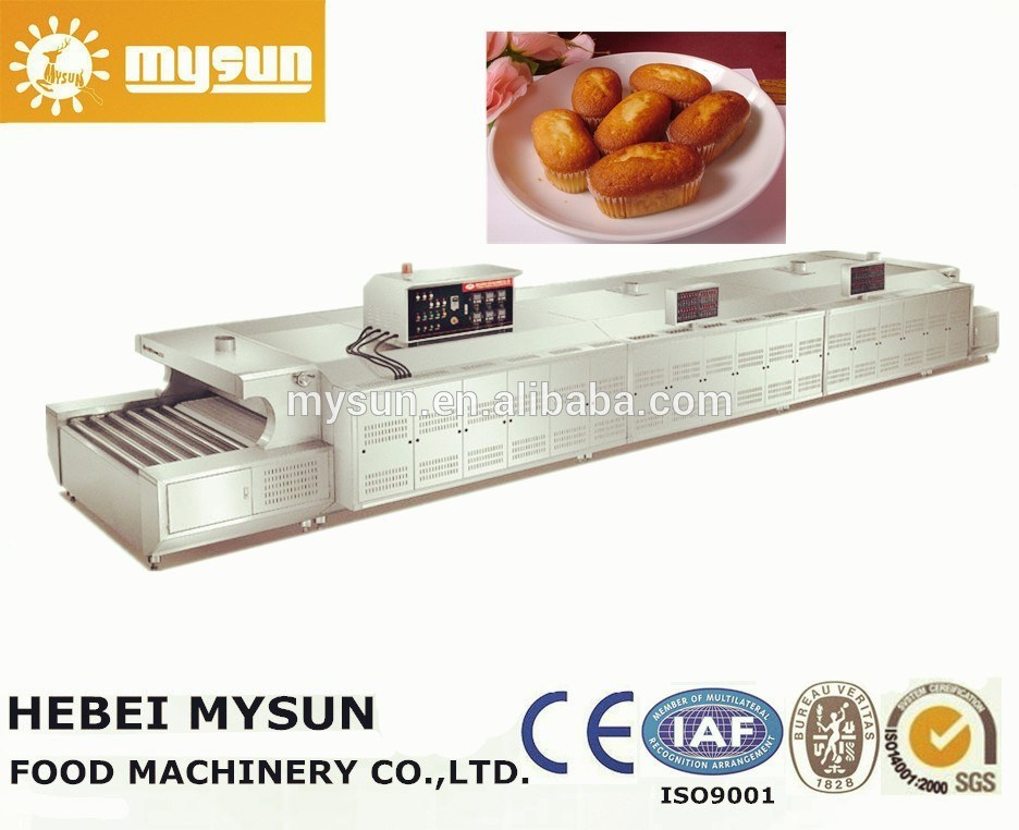 Mysun Commercial Baking Stainless Steel Tunnel Oven with CE Ios BV
