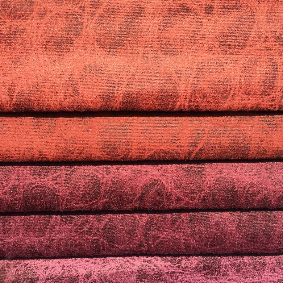 100%Polyester Knitting Velvet with Leather Looking and Easy to Clean (JL001)