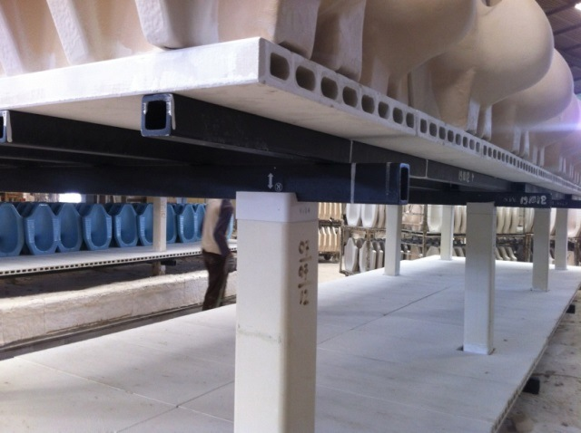 Kiln Furniture System (Extruded Batt + SiSiC Beam)