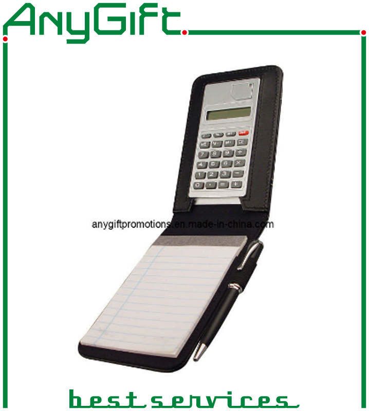 Calculator with Notebook with Customized Logo