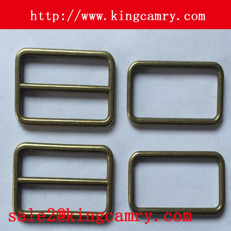 Adjustable Tri Glide Slider Buckle Metal Plate Tri Glide Buckle Metal Square Buckle Bag Buckle Shoe Buckle