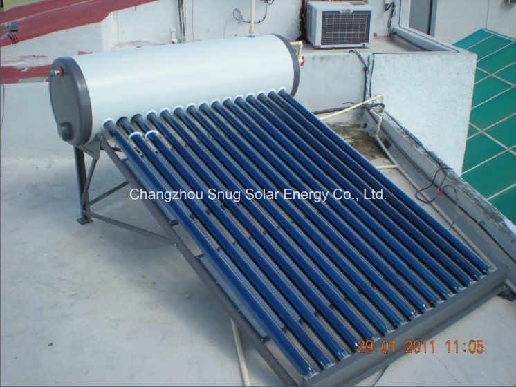 80L-150L Solar Water Heater with Low Angle