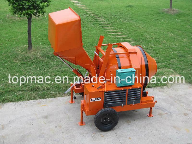 China Cheap Reversible Hydraulic Concrete Mixer