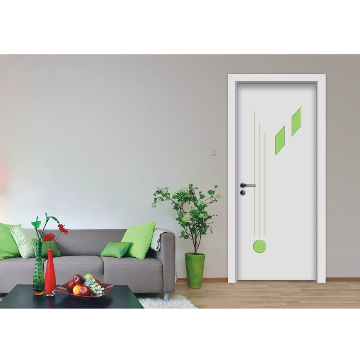 Solid Wood Interior House Room Door