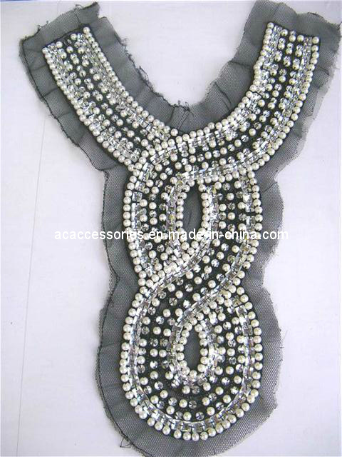 china pearl acrylic embellishment clothing
