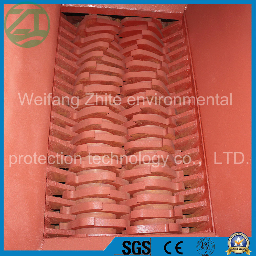 Plastic/Wood/Solid Waste/Tire/Waste Fabric/Mattress/Municipal Waste Shredder