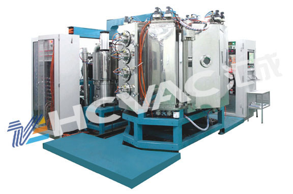 HCVAC Gold, Rose, Silver, Black, Blue Metallization PVD Vacuum Coating Machine