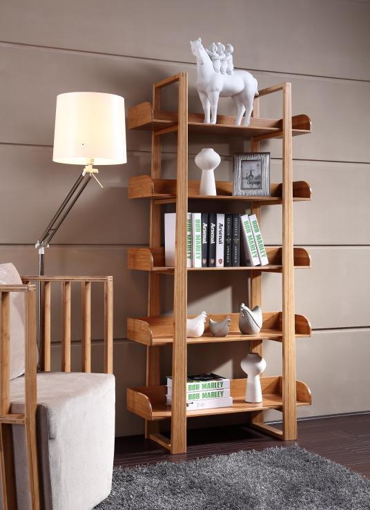 5 Layers Bamboo Book Shelf / Bamboo Display Rack