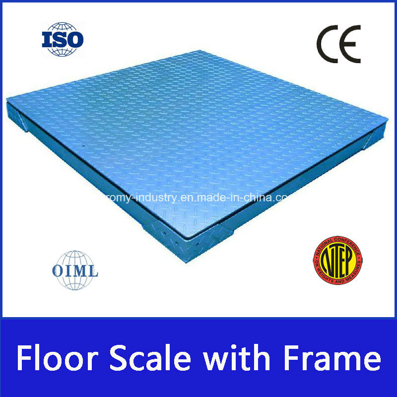 Industrial Scale Platform Weighing Floor Scale with Frame