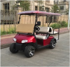 48V Battery Operated 4 Seater Electric Golf Car