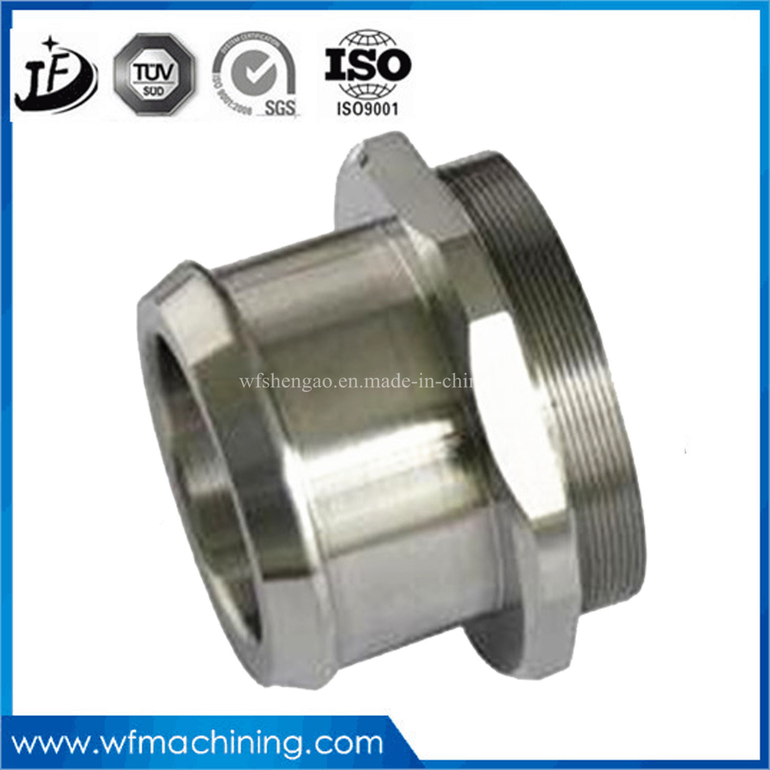Customized Chrome Plating Steel Precision CNC Machining Forged Steel Product with Casting & Machining