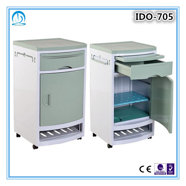 Ce ISO Approved Medical Cabinet on Wheels