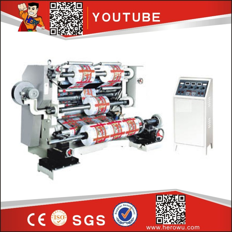 Automatic Slitting & Rewinding Machine