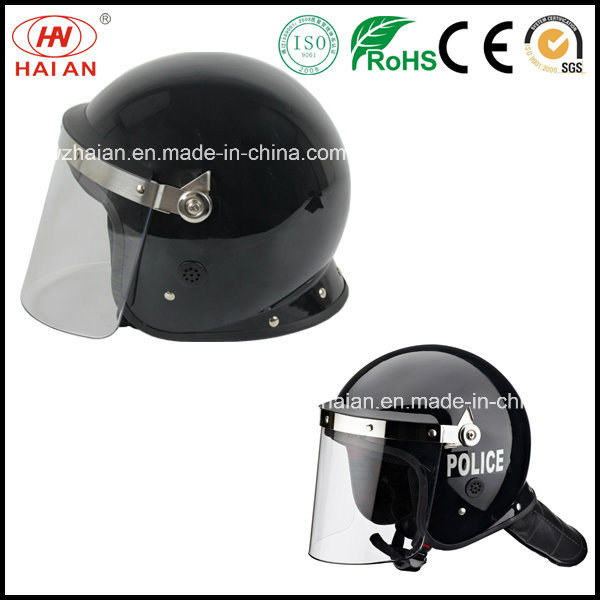 Riot Police Helmet Used in Military and Police