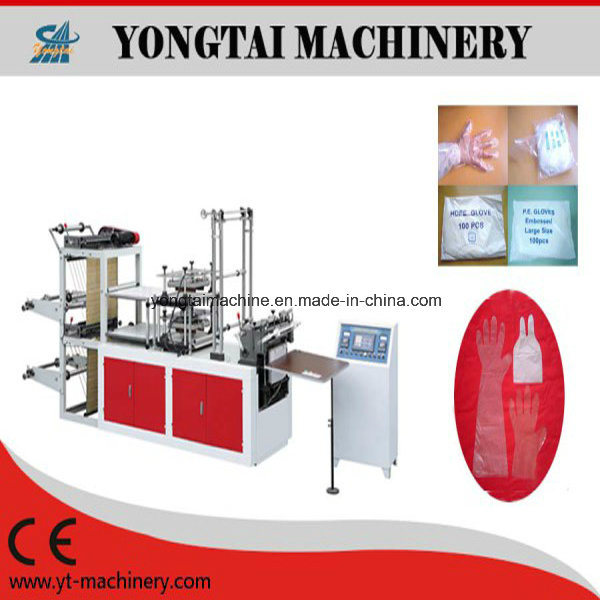 Automatic Plastic Glove Making Machine