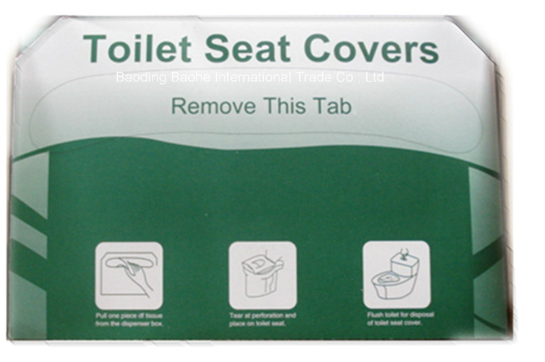 Disposable Toilet Seat Cover, Paper Toilet Seat Cover