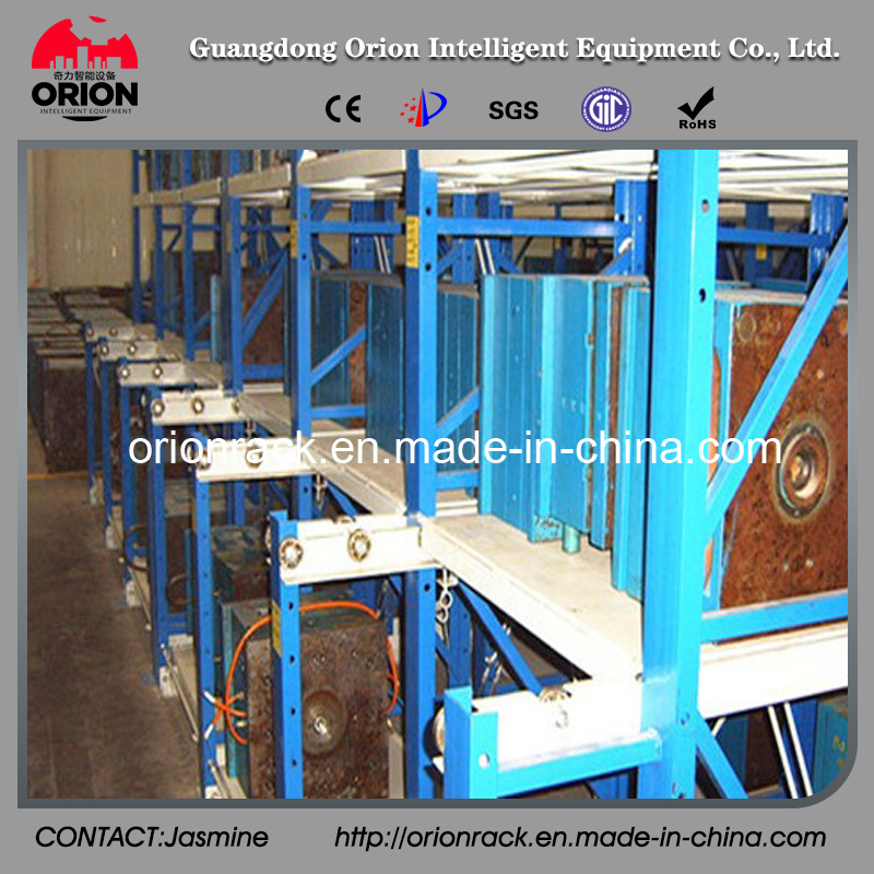 Warehouse Storage Slid Mould Shelf Rack