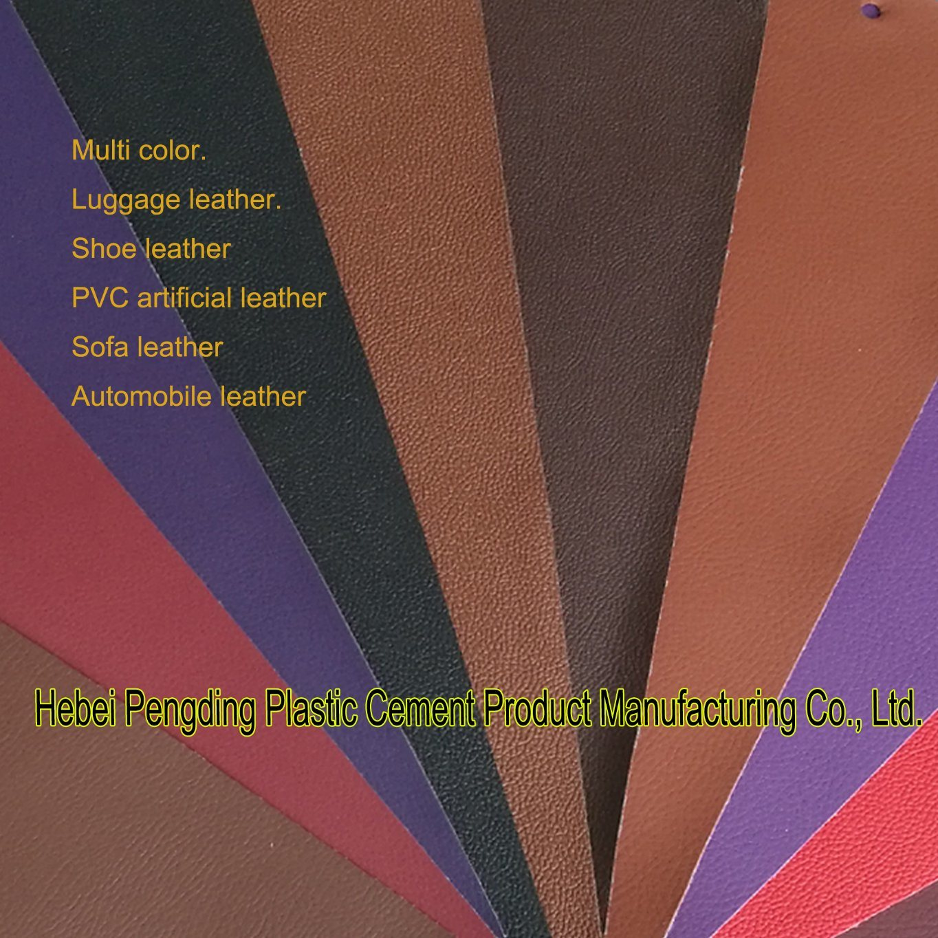 Toothpick PVC Artificial Leather PVC Leather Bags Leather