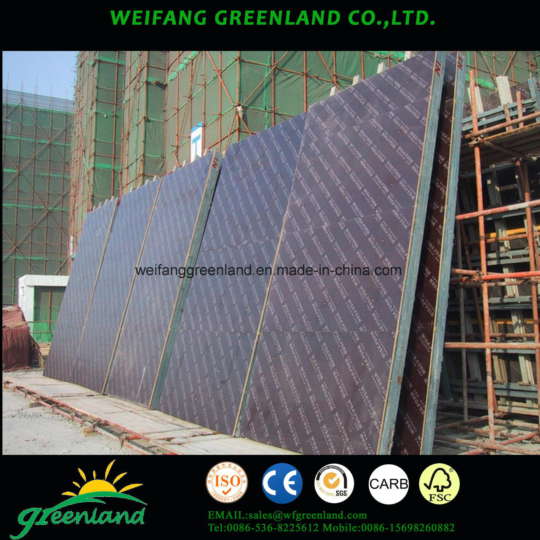 Super Strong Quality Tego Film Faced Plywood